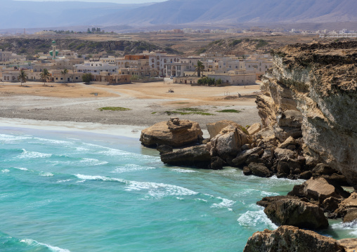 Seaside and cliffs, Dhofar Governorate, Taqah, Oman