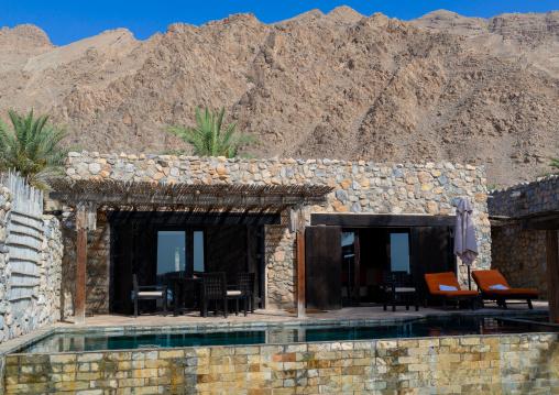 Six senses zinghy bay villa, Musandam Governorate, Zinghy Bay, Oman