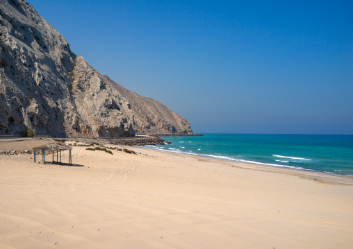 Empty beach, Musandam Governorate, Khasab, Oman