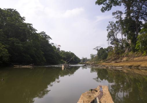 Panama, Darien Province, Filo Del Tallo, Río Chucunaque