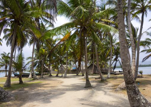 Panama, San Blas Islands, Mamitupu, Kalu Obaki Lodge