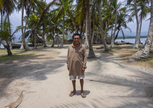 Panama, San Blas Islands, Mamitupu, Pedro From Kalu Obaki Lodge