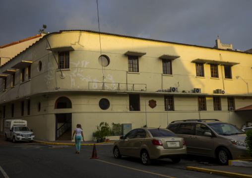 Panama, Province Of Panama, Panama City, Police Station In Casco Viejo