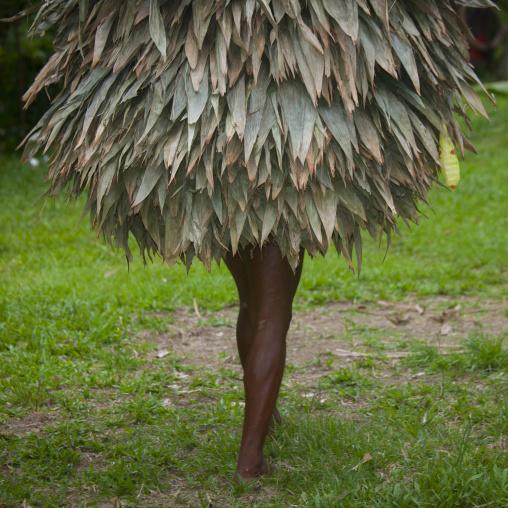 Duk duk during a Tubuan dance, East New Britain Province, Rabaul, Papua New Guinea