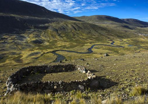Landscape, Cuzco Area, Peru