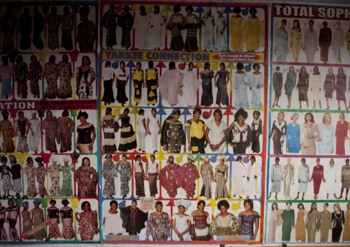 Tailor shop in the market, Lake Kivu, Gisenye, Rwanda