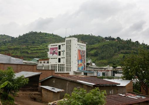 Brasserie beer factory, Lake Kivu, Gisenye, Rwanda