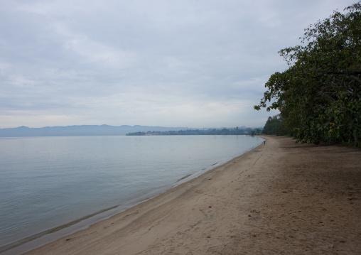 Clean beach, Lake Kivu, Gisenye, Rwanda