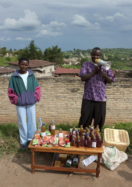 Traditional medicine for sale in a market, Kigali Province, Kigali, Rwanda