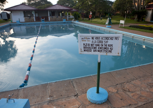 Pool in laico hotel, Kigali Province, Kigali, Rwanda