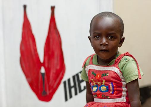 Portrait of a rwandan boy, Kigali Province, Kigali, Rwanda
