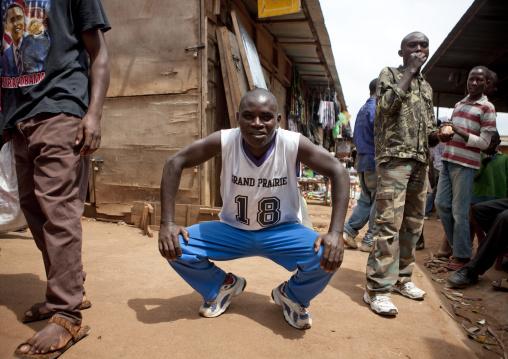 Rwandan man in the street, Kigali Province, Kigali, Rwanda