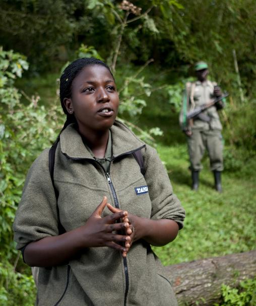 Volcanoes national park guide, Northwest Province, Rehengeri, Rwanda
