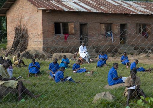 School in volcanoes national park area, Northwest Province, Rehengeri, Rwanda