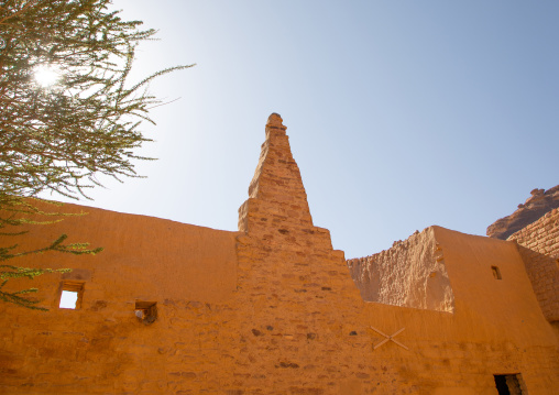 Tantora sundial used by the locals as a marker for the changing of the seasons, Al Madinah Province, Alula, Saudi Arabia