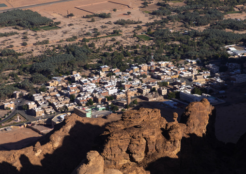 The new town in the middle of the wadi al-qura, Al Madinah Province, Alula, Saudi Arabia