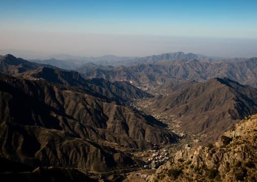 Mountain view, Asir province, Rijal Almaa, Saudi Arabia