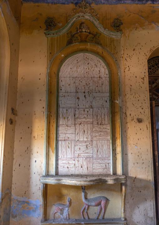 Al Kateb house inside decoration, Mecca province, Taïf, Saudi Arabia