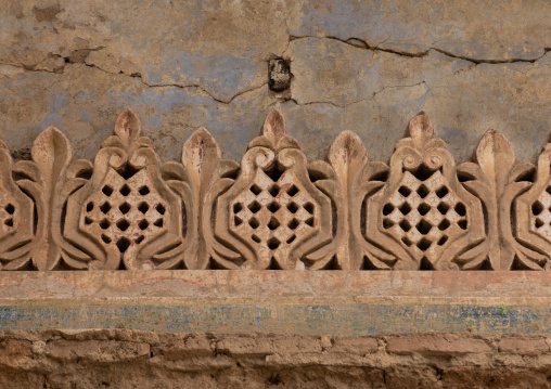 Abdullah al-Suleiman palace architectural detail, Mecca province, Taïf, Saudi Arabia