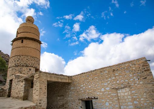 The ottoman Qantara mosque also known as al-Madhoun mosque, Mecca province, Taïf, Saudi Arabia