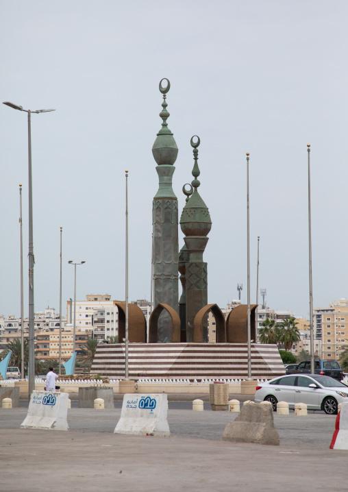 Islamic art in the city, Mecca province, Jeddah, Saudi Arabia