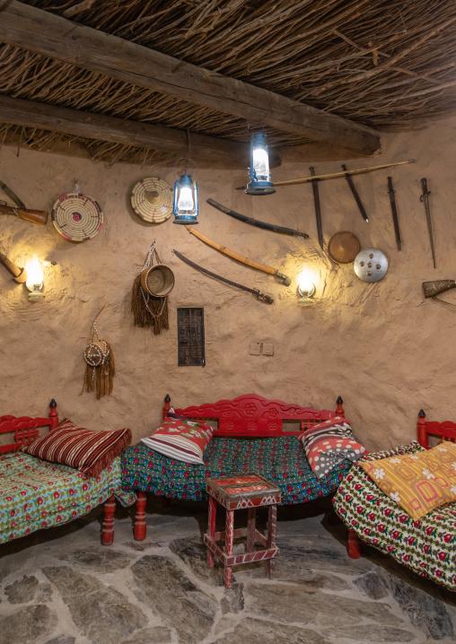 Decoration in al baitul Jabali house, Jizan Province, Jizan, Saudi Arabia