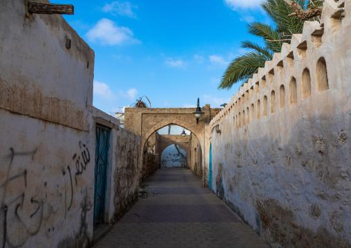 Ahmed Munawar Refa house arches, Red Sea, Farasan, Saudi Arabia