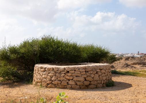 Old stones well, Red Sea, Farasan, Saudi Arabia
