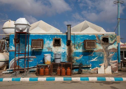 Fish market, Red Sea, Farasan, Saudi Arabia