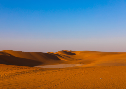 The rub' al Khali empty quarter desert, Rub al-Khali, Khubash, Saudi Arabia