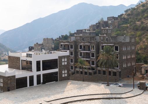 New hotels in Rijal Alma village, Asir province, Rijal Alma, Saudi Arabia