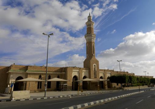 Mosque in the town, Mecca province, Taif, Saudi Arabia