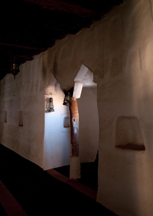 Inside the mud fort, Najran Province, Najran, Saudi Arabia