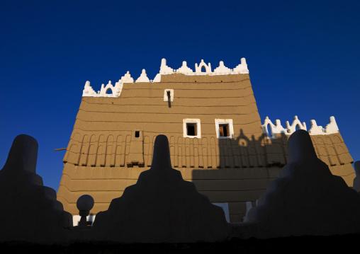 Emarah palace in Aba Alsaud historical are, Najran Province, Najran, Saudi Arabia