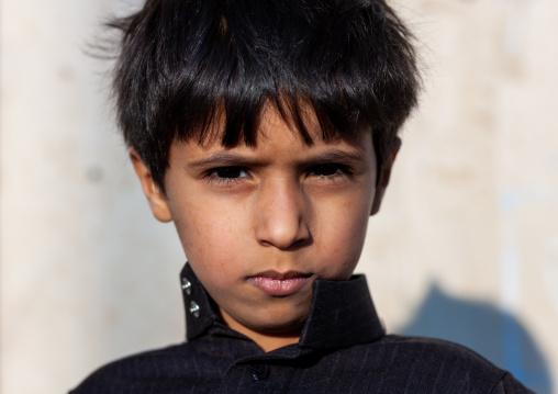 Portrait of a saudi boy, Najran Province, Najran, Saudi Arabia