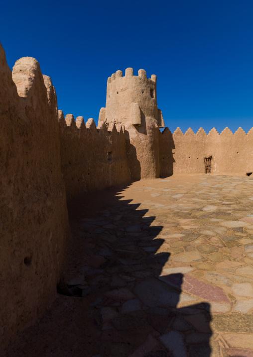 Inside court of qasr zaba al, Al-Jawf Province, Sakaka, Saudi Arabia