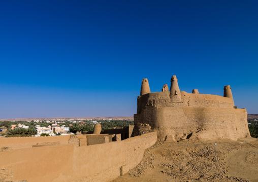 Stone and mud-brick qasr marid, Al-Jawf Province, Dumat Al-Jandal, Saudi Arabia