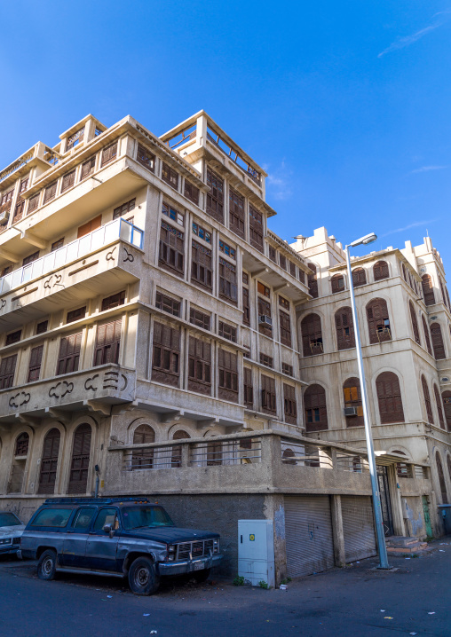 Old ottoman house, Makkah Province, Taif, Saudi Arabia