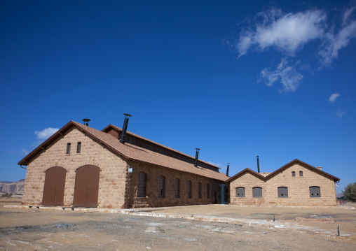 Train station from old hijaz railway, Al Madinah Province, Alula, Saudi Arabia