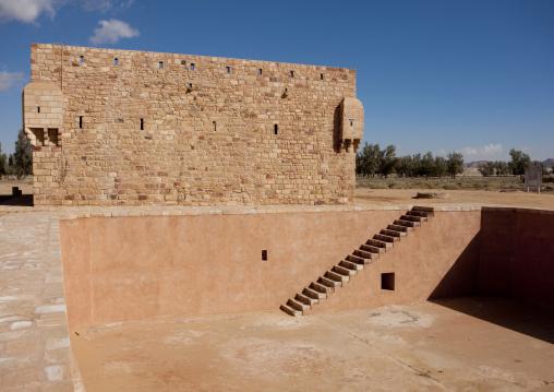 Old ottoman fort from hijaz railway, Al Madinah Province, Alula, Saudi Arabia