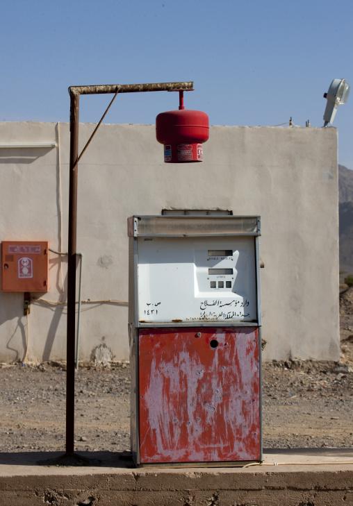 Oil station, Mecca province, Jeddah, Saudi Arabia