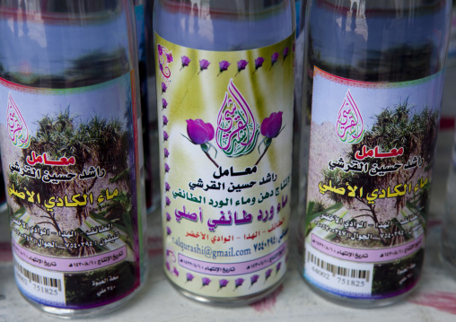 Rose water bottles, Mecca province, Jeddah, Saudi Arabia