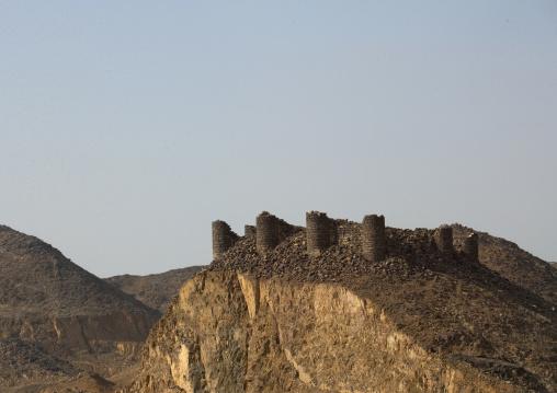 Old turkish fort on a hill, Mecca province, Jeddah, Saudi Arabia