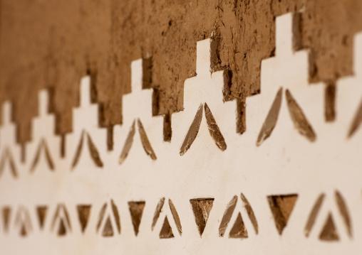 Al masmak fort wall decoration, Riyadh Province, Riyadh, Saudi Arabia