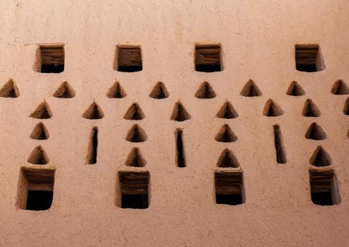 Al masmak fort ventilation windows, Riyadh Province, Riyadh, Saudi Arabia