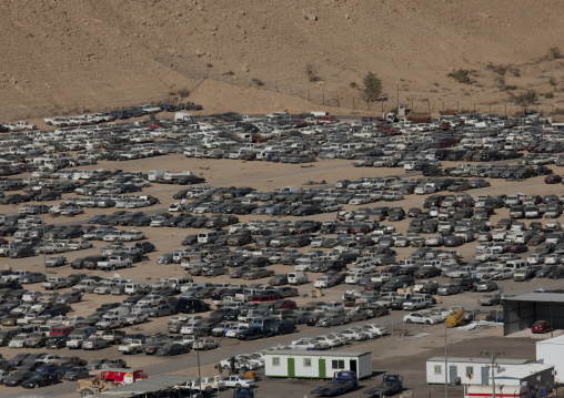 Car pound, Riyadh Province, Riyadh, Saudi Arabia