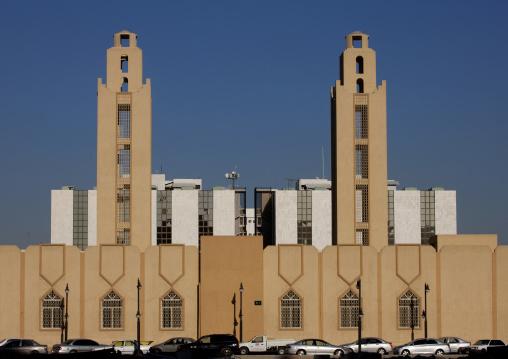 Modern mosque, Riyadh Province, Riyadh, Saudi Arabia