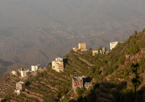 Village in the mountains near the yemeni border, Al-Sarawat, Fifa Mountains, Saudi Arabia