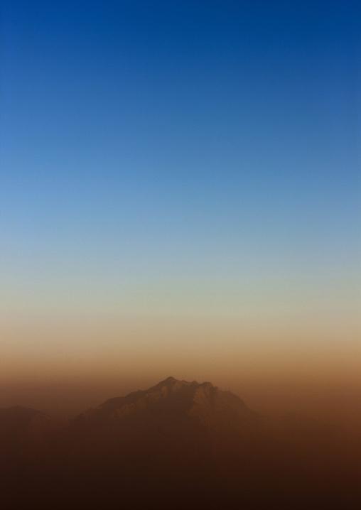 View on the border of Yemen, Fifa Mountains, Al-Sarawat, Saudi Arabia