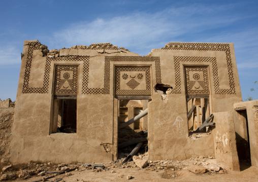 Ottoman old house, Red Sea, Farasan, Saudi Arabia